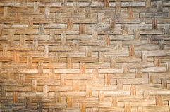 Bamboo wicker pattern Royalty Free Stock Photo