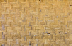 Bamboo wickerwork for background and texture Stock Images