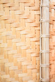 Bamboo wickerwork Close up Royalty Free Stock Image