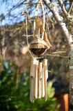 Bamboo wind chimes Royalty Free Stock Photo