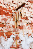 Bamboo wind chimes Royalty Free Stock Images