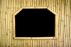 Bamboo Window Frame Royalty Free Stock Image