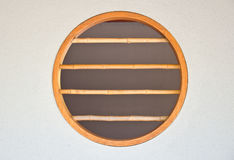 Bamboo window japan style Stock Images