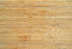 Bamboo wood background Stock Photography