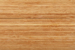 Bamboo wood chopping board background with cuts Stock Photography