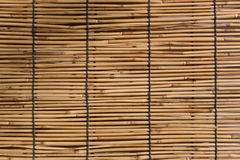 Bamboo Wood Curtain Stock Image