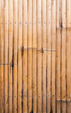 Bamboo wood pattern in row Stock Images