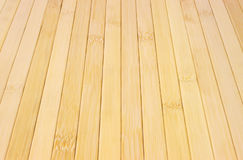 Bamboo wood strips Royalty Free Stock Photography