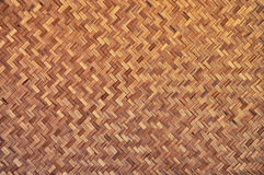 Bamboo wood texture. Thai handwork Royalty Free Stock Images