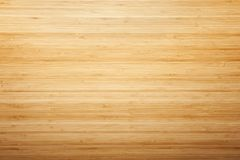 Bamboo wood texture desk. Background, natural surface wooden background. Top view stock image