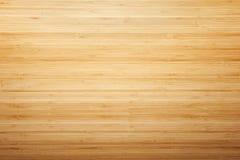 Bamboo wood texture desk stock image