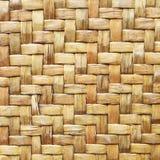Bamboo wood texture ,Thai handwork Stock Image