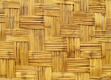 Bamboo wood texture wall Stock Photos
