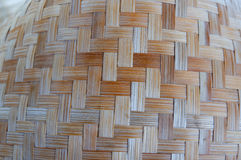 Bamboo wood weave Stock Photography