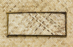 Bamboo wooden fence,. Background bamboo  basket brown  colorful  culture decor Stock Photos