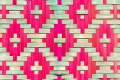 Bamboo Wooden Pattern Texture Stock Images