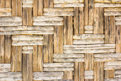 Bamboo wooden texture Royalty Free Stock Photos