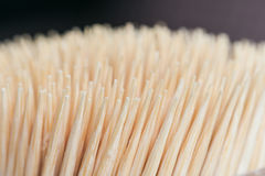 Bamboo wooden toothpicks abstract background Royalty Free Stock Photos