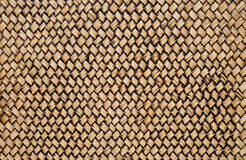 Bamboo wooden wall texture. Wall bamboo wooden hand craft Stock Photos
