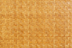 Bamboo Wooden Weave Texture Background Royalty Free Stock Image