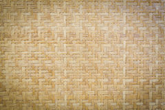 Bamboo wooden weave texture background Stock Photos