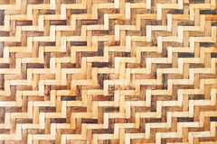 Bamboo wooden weave texture background Stock Photo