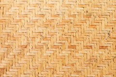 Bamboo wooden weave texture background Stock Image