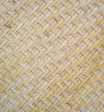 Bamboo woven background Stock Images