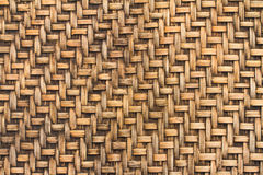 Bamboo woven background Stock Photography