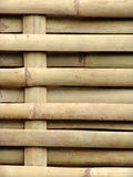 Bamboo woven into fence Royalty Free Stock Image