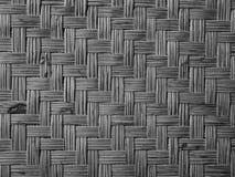 Bamboo woven flat mat natural bamboo background. royalty free stock photos