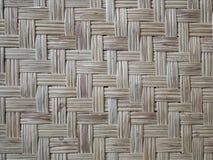 Bamboo woven flat mat natural bamboo background. stock photography