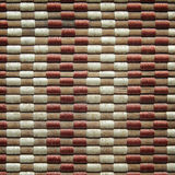 Bamboo woven mat texture. Or seamless background royalty free stock photo