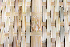 Bamboo woven native thai style II Royalty Free Stock Photography