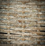 Bamboo woven texture Royalty Free Stock Image