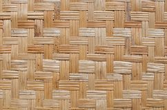 bamboo woven texture Stock Photos
