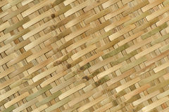 Bamboo woven textured Royalty Free Stock Image