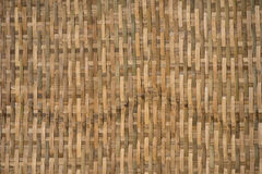 Bamboo woven and textured Royalty Free Stock Images