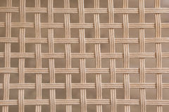 Bamboo woven wicker pattern square texture Stock Photography