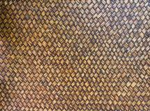 bambool手工造纹理织法柳条 库存照片