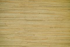 Texture of bamboo wood on the furniture royalty free stock photography