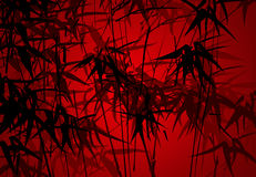 Bamboos background : vector Royalty Free Stock Images