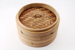 Bambou cuit à la vapeur Images libres de droits