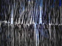 Bambu在中国庭院里 免版税库存照片