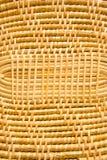 Bambu används för att väva. Royaltyfri Bild