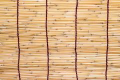 Bambu blind Stock Image