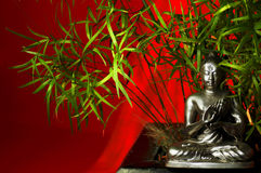 Bambu Budha 2 Stock Photos