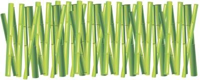 Fundo do bambu verde Imagem de Stock