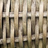 Bambu do Weave Imagens de Stock
