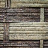 Bambu do Weave Imagem de Stock